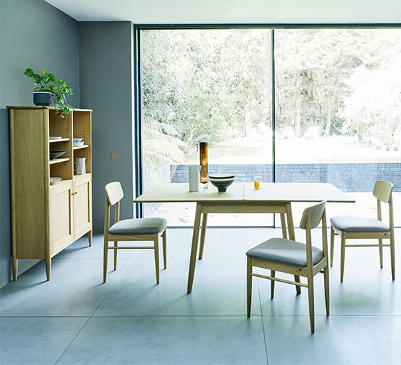 Dining Tables flip top extendable dining table