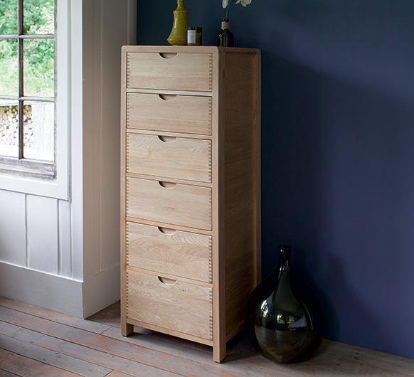 Chests of Drawers six drawer tall chest