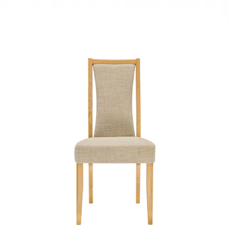 Artisan padded back dining chair
