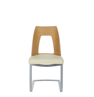 Image of 2645 cantilevered dining chair