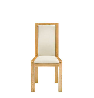 Image of 1392C padded back dining chair